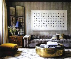 Jackie Astier in Elle Decor « Amesbury Road Interiors