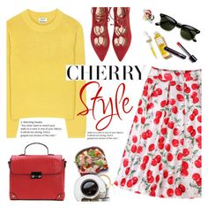"""My cherry pie"" by purpleagony ❤ liked on Polyvore featuring Acne Studios and Rodin"