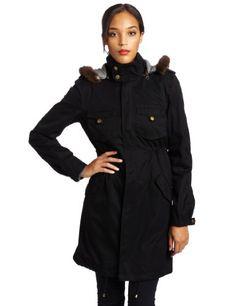 Patterson J. Kincaid Women`s Lauren Fur Trim Parka $289.17