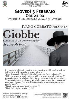 5 FEBBRAIO 2015 - IVANO GOBBATO presenta: Giobbe