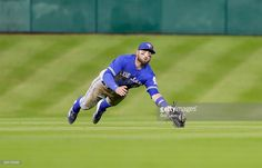 Kevin Pillar of the Toronto Blue Jays makes a diving catch on a line drive by Jose Altuve of the Houston Astros in he fourth inning at Minute Maid Park on August 2016 in Houston, Texas. Kevin Pillar, Blue Jay Way, Minute Maid Park, Pink Suit, Toronto Blue Jays, Houston Astros, What I Wore, Diving, Baseball