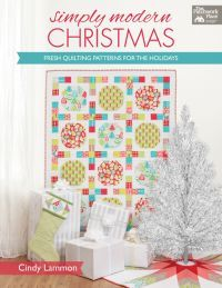 """Simply Modern Christmas"" book by Cindy Lammon (from Martingale)"