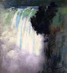 Niagara Falls (1898) - Sarah Wyman Whitman