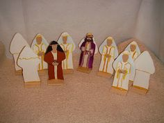 Photo: Wedding Feast Parable figures are many