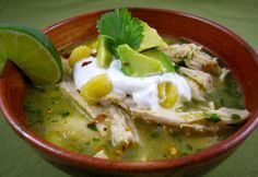 Pozole (Traditional Mexican Soup)