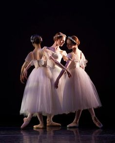 ∴ Trios ∴ the three graces & groups of 3 in art and photos - ballerinas