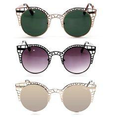aa9308c1273f7 Fleur comes in three great colours!  quayeyeware  sunnies  gold Quay  Sunglasses