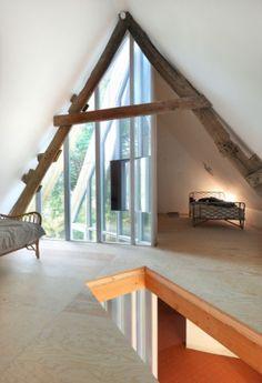 new entrance to existing building - inside  - matta  -  architecten de vylder vinck taillieu