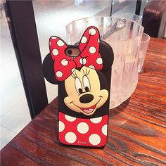 Süße MICKEY Minnie 3D Protector Schutzhülle Cover iphone5, iphone 6 iphone 6 plus