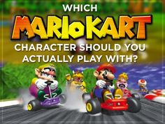 Which Mario Kart Character Should You Actually Play With?