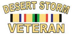 USA Desert Storm Veteran