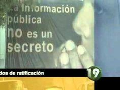 Este jueves un diario local, publicó, que en medio de la opacidad de procedimientos, el Congreso del Estado, ratificó a los Consejeros del Instituto de Transparencia e Información Pública de Jalisco, Su presidente prefirió no tocar el tema, porque dice que no le compete.     Informe Omar García