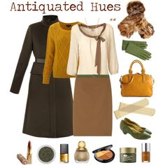 """Antiquated Hues"" by beigs on Polyvore"