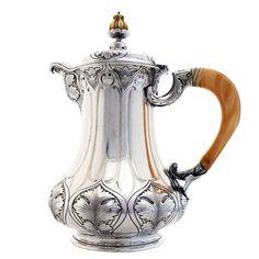 Rare Gorham Athenic Sterling Silver Espresso Etc Pot 1900