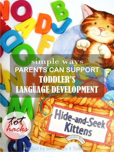 Tips for Supporting Toddler's Language Development … – Baby Development Toddler Learning Activities, Play Based Learning, Literacy Activities, Infant Activities, Toddler Preschool, Toddler Games, Preschool Alphabet, Alphabet Activities, Toddler Meals