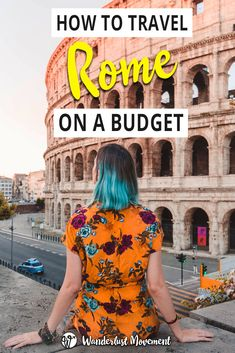 Is it possible to travel Rome on a budget? Here's everything you need to know to save money on a budget-friendly trip to Rome, free and cheap thi. , How To Travel Rome On A Budget, Italy Travel Tips, Rome Travel, Budget Travel, Travel Europe, Travelling Europe, Venice Travel, Travel Plan, Backpacking Europe, Europe Packing