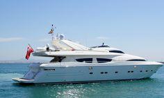 Alquiler de yates en Ibiza. Alquiler de yates y barcos de lujo en Ibiza a o los mejores precios.