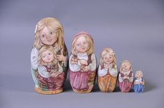 Gallery.ru / Фото #1 - Эксклюзивные матрёшки - Markara