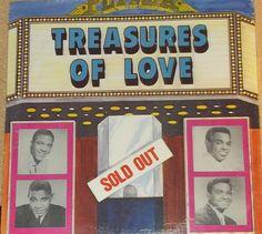 Treasures Of Love Sealed Variou sArtists Record Album Clyde McPhatter Chuck Jackson Gene Chandler Jimmy Jones by RASVINYL on Etsy