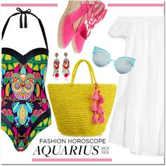 How To Wear Fashion Horoscope Aquarius Outfit Idea 2017 - Fashion Trends Ready To Wear For Plus Size, Curvy Women Over 20, 30, 40, 50