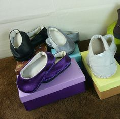 video tutorial to make shoe boxes for the little AG shoes