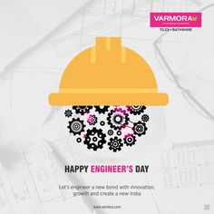 Let's engineer a new bond with innovation, growth and create a new India Happy Engineer's Day. Engineers Day, National Days, News India, Faucet, Bond, Innovation, Tiles, Engineering