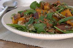 Tui Garden   Warm Salad of Pumpkin & Quinoa