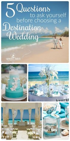"""PictuThinking of a destination wedding? Ask yourself these seldom asked reality questions. If you're answer is """"yes! let's start planning! Wedding Tips, Wedding Events, Wedding Planning, Wedding Stuff, Wedding Flowers, Dream Wedding, Wedding Attire, Destination Wedding Themes, Cruise Wedding"""