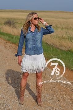 The Dillon – Savannah Sevens Western Chic Country Girls Outfits, Cowgirl Outfits, Western Outfits, Cowgirl Dresses, Cowgirl Clothing, Cowgirl Boots, Gypsy Cowgirl, Cowgirl Fashion, Cowgirl Chic