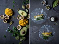 Sommerrollen mit Avocado und Mango | Foodlovin'