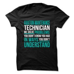 Aviation Maintenance Technician T-Shirts, Hoodies. Get It Now ==> https://www.sunfrog.com/No-Category/Aviation-Maintenance-Technician-72687713-Guys.html?id=41382