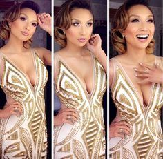 Jeannie mai is gorgeous not a flaw to be seen Jeannie Mai, Gorgeous Women, Beautiful People, Simply Beautiful, Mode Glamour, Love Her Style, Celebs, Celebrities, Asian Woman