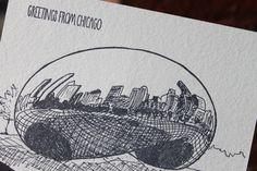 da bean in chicago… Albertine Press