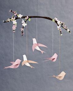 Bird Mobile Tutorial. Tweet Tweet!.