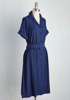 Drive-In Force Dress   Mod Retro Vintage Dresses   ModCloth.com