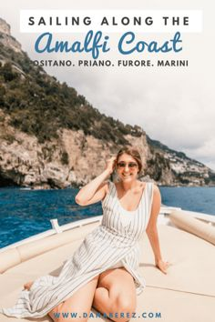 Travel Italy: Unforgettable Experience Sailing Along the Amalfi Coast Italy Italy Vacation, Vacation Trips, Italy Trip, Vacation Ideas, Rome Travel, Italy Travel, Amalfi Coast Italy, Sorrento Italy, Capri Italy