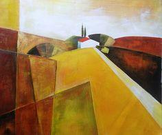 SUMMER HILLS - € 91.35 Sizes:  50x60 Contact us info@chepakko.com Visit our website www.chepakko.com #chepakko #handmade   #pop #popart #vintage #tribal #orientalstyle  #abstract #trends #view #landscape #landscapes  #picture #painting #panel #canvas #oilcolors #oilpaint #art #artist #retrospective