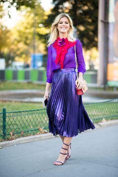 Street fashion: Paris Fashion Week wiosna-lato 2017