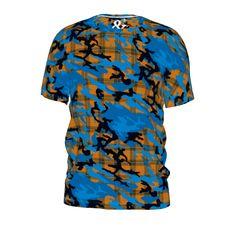 #plaidcamo by #and&and #citrusreport #tshirt #alloverprint #plaid #camo #armycamo #camo #@The Citrus Report