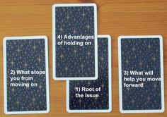 How to Move On Tarot Card Spread