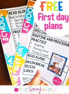 The ONE Activity I Am Adding to my First Day Plans This Year - 1st day of school plans--FREE