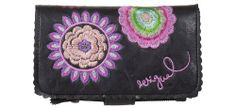 Desigual Wallet Bordado Galactic 41y5468/2000 Womens Desigual, To SEE or BUY just CLICK on AMAZON right here http://www.amazon.com/dp/B00IF5PNY0/ref=cm_sw_r_pi_dp_2WAvtb1DAAGTNQH2