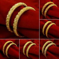 Indian Goldplated Ethnic Kada Bangles Traditional Bracelet Women Wedding Jewelry