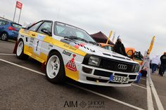 Photograph Audi Quattro by Dan French on 500px   | WRC Rally School @ http://www.globalracingschools.com