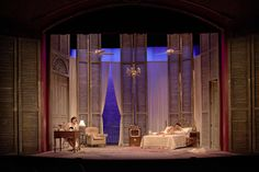 Cat on a Hot Tin Roof. Shawn Fisher, scenic design.