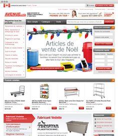 www.avenuesupply.ca #ecommerce #episerver #frenchlanguage