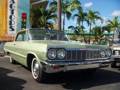 1964 Chevrolet Impala Coupe - I've had a real thing for '60s metallic greens lately.