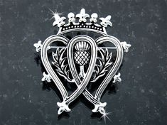 Thistle Luckenbooth Brooch