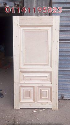 ابواب خشب مودرن Modern Door Doors Outdoor Decor