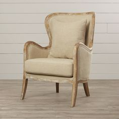 You'll love the Lilya Accent Wingback Chair at Wayfair - Great Deals on all Furniture  products with Free Shipping on most stuff, even the big stuff.